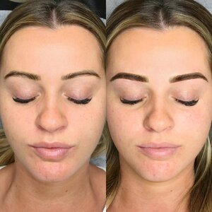 ombre brow tattoo gold coast