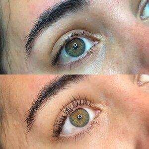 wedding eyelash treatment
