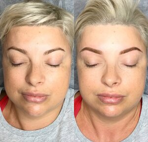 ombre brows gold coast