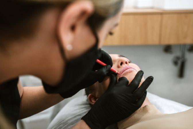cosmetic lip tattoo burleigh heads